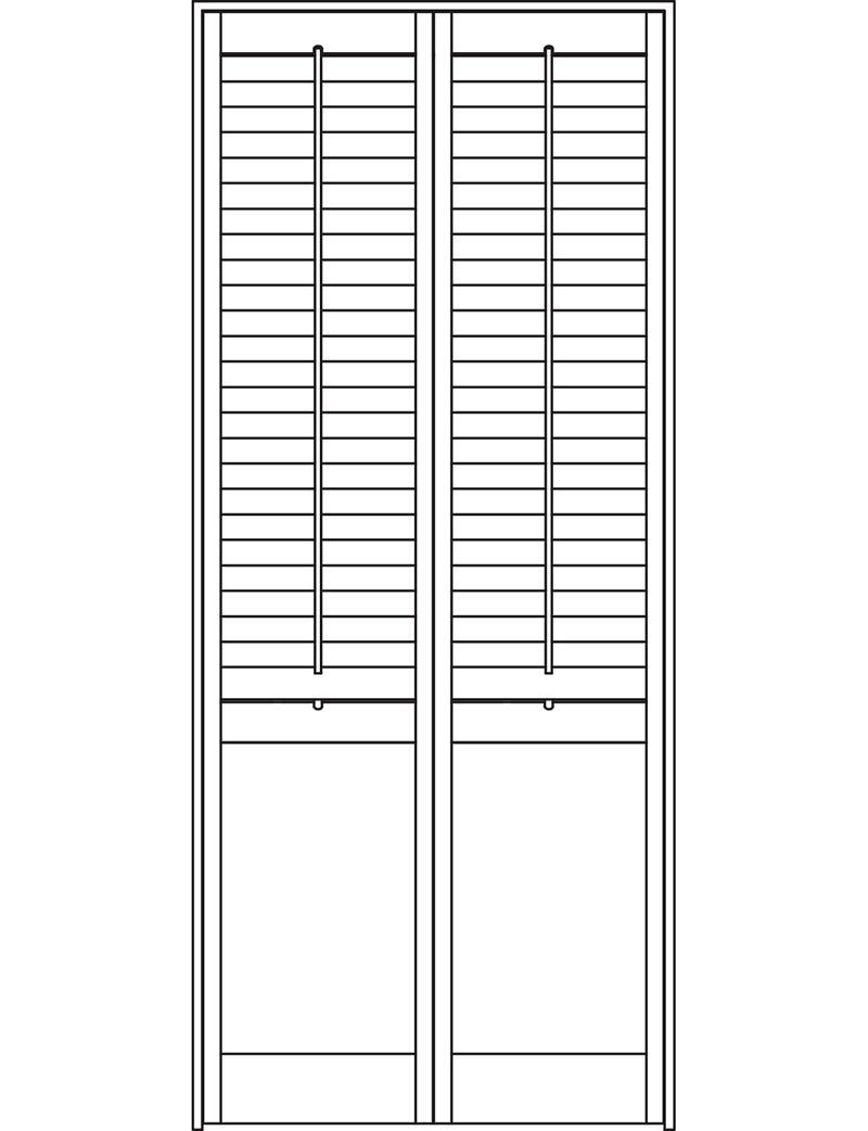Solid Door shutters