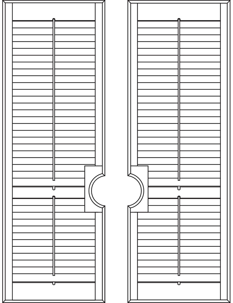 French Door Shutters Wooden French Shutters Cool Shutters