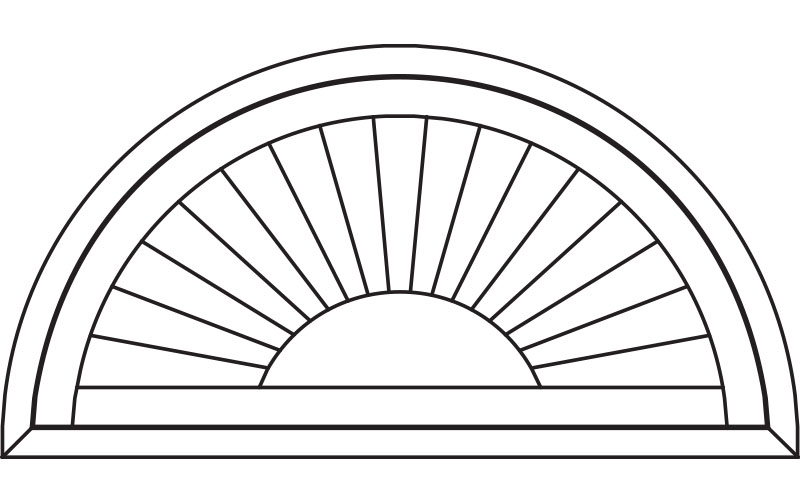 Special Arched Shutters