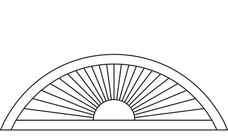 Non-Perfect Arch Shutters
