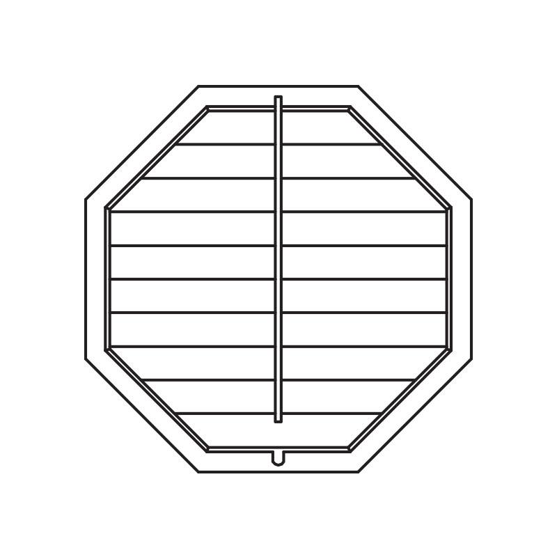 Octagon Shutters