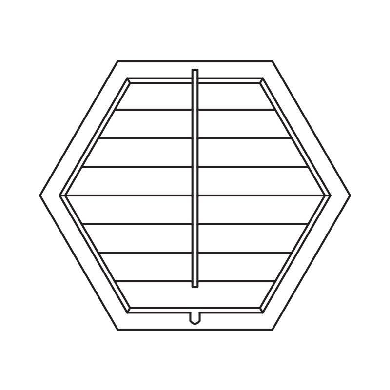Hexagon Shutters