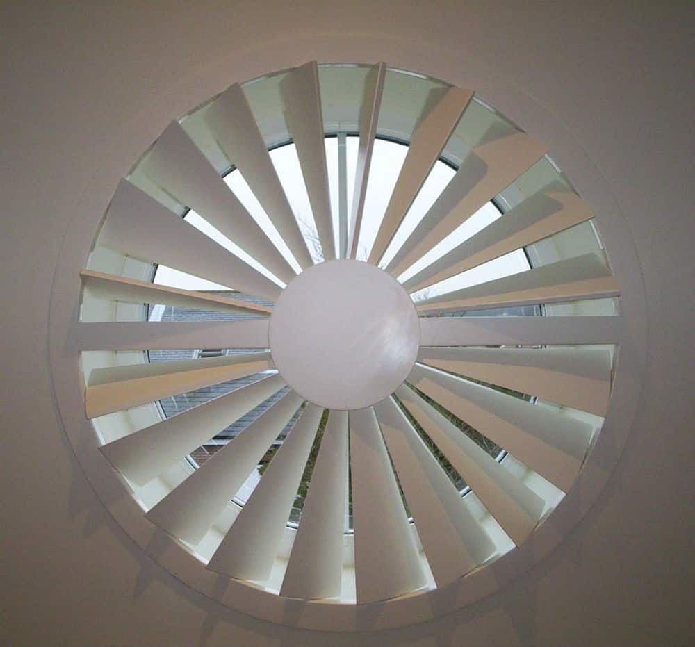 Circular Shutters Circle Window Plantation Shutters