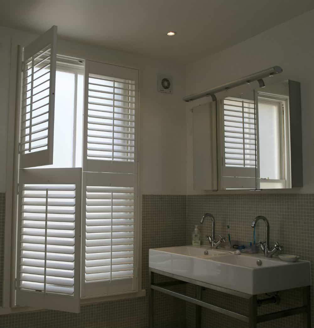 Bathroom Plantation Shutters Wooden Bathroom Window Shutters Cool Shutters