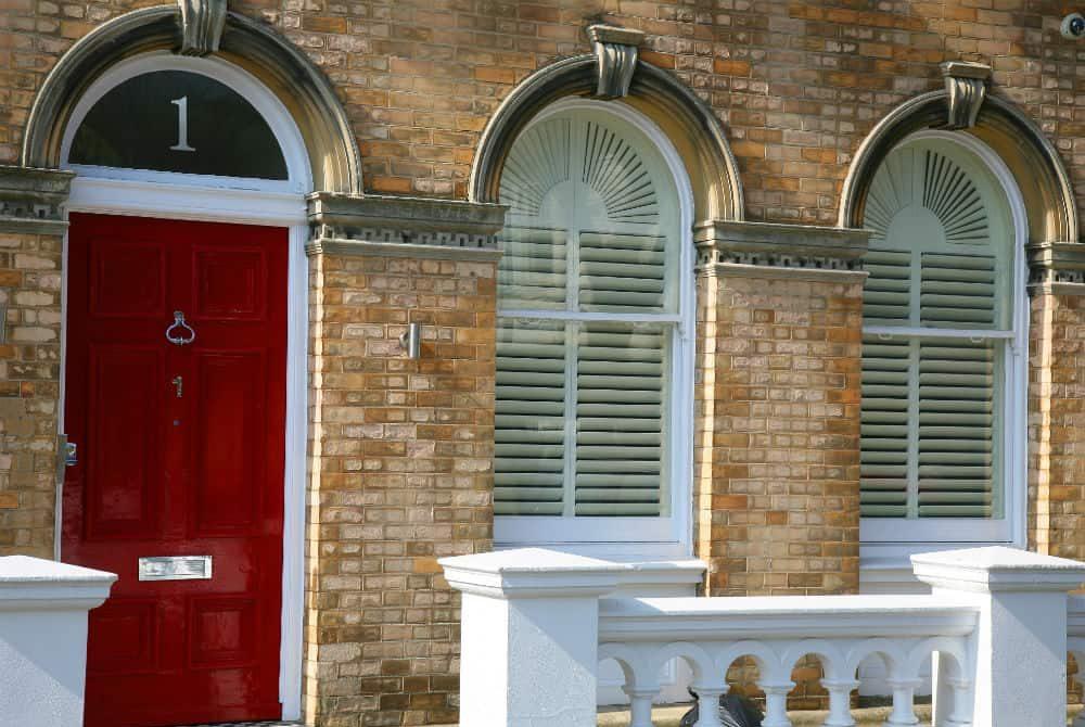 arched door shutters