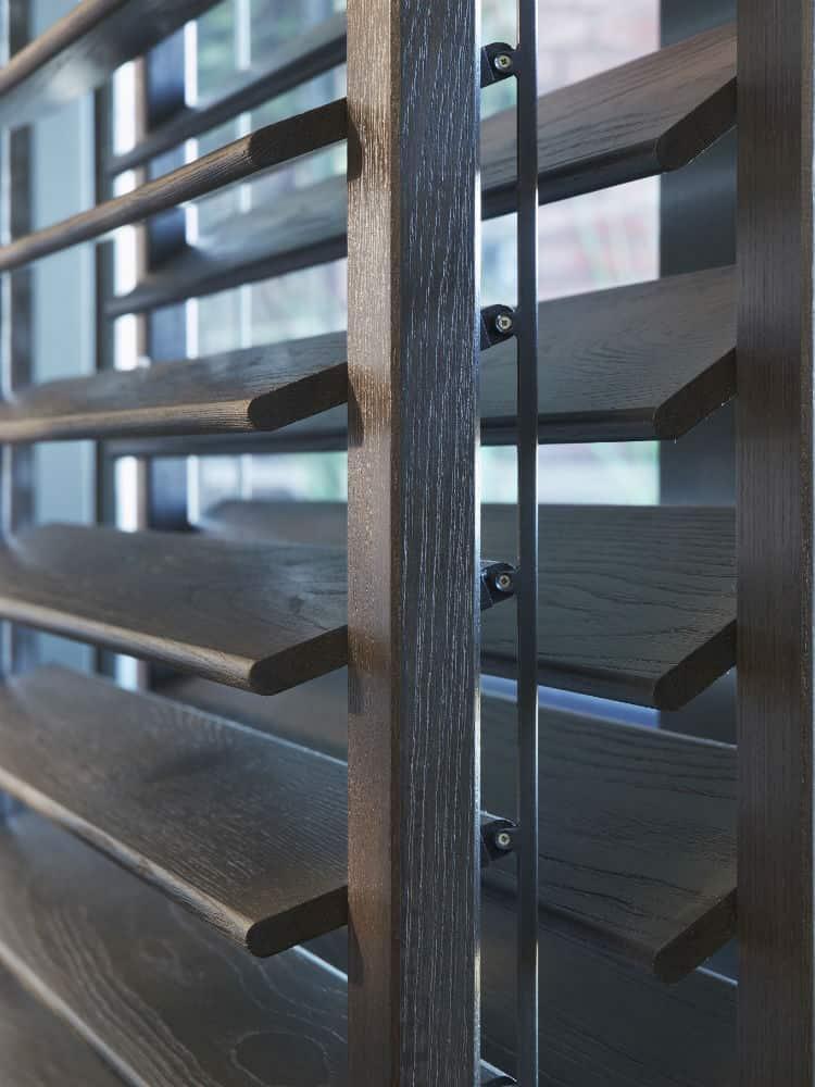 grey shutters
