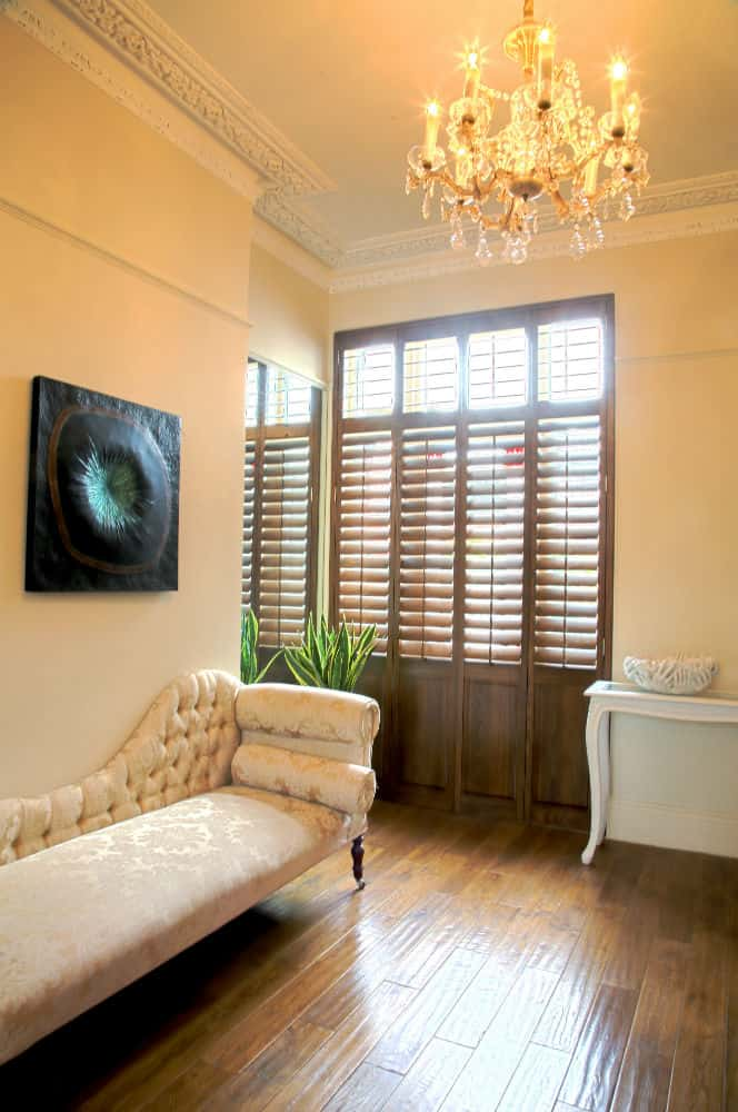 shutters for lounge