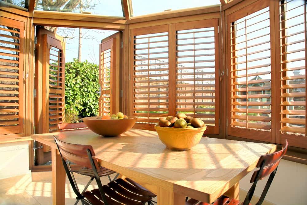 super maple wood shutters