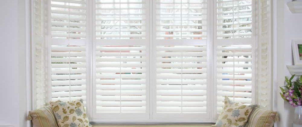 bay window plantation shutters