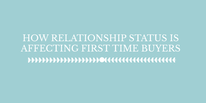 relationship status- first time buyers